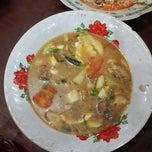 Photo taken at Soto Sari Rasa by BASTIAN H. on 11/26/2014