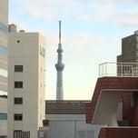 Photo taken at 共同ビル茅場町二丁目 by HiroQAZu i. on 1/13/2014