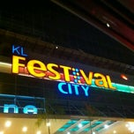 Photo taken at KL Festival City Mall by Mishta Taufeeq S. on 7/28/2013