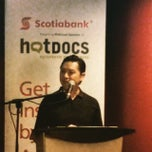Photo taken at The Bloor Hot Docs Cinema by Rick B. on 4/24/2015