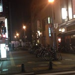 Photo taken at 初恋通り by K T. on 8/14/2014