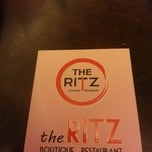Photo taken at The Ritz Boutique Restaurant by Mohd A. on 10/15/2014