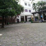 Photo taken at Universidade Moacyr Sreder Bastos (UniMsb) by Eder C. on 11/28/2012