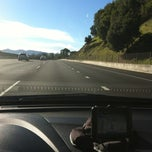 Photo taken at Marinwood Exit by Nick T. on 1/10/2013