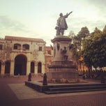 Photo taken at Parque Colon by Antonina P. on 3/11/2013