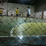Photo taken at Palur Futsal by Lucman P. on 12/28/2012