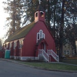 Photo taken at Fort Sherman Chapel by Ed S. on 4/14/2014