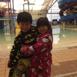 Photo taken at Silliman Family Aquatic Center by KheeLeong W. on 10/15/2014