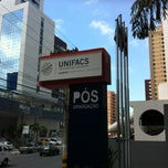 Photo taken at UNIFACS - Universidade Salvador by Moisés N. on 5/24/2013