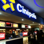 Photo taken at Cinépolis Multiplaza by Mario M. on 11/24/2012