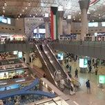 Photo taken at Kuwait International Airport (KWI) | مطار الكويت الدولي by Lezo M. on 11/30/2012