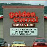 Photo taken at Golden Corral by Haakon A. on 8/23/2011