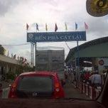 Photo taken at Phà Cát Lái by Vinh N. on 9/4/2012