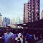 Photo taken at The Terrace at Yotel by Paul M. on 7/19/2012