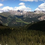 Photo taken at Rifugio Passo Sella by Oreste C. on 8/9/2011