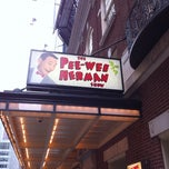 Photo taken at The Pee Wee Herman Show on Broadway by TJ on 1/1/2011