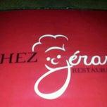 Photo taken at Restaurant Chez Gérard by Phil T. on 11/22/2011