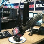 Photo taken at 105.3 The Fan/KRLD FM by Steph B. on 7/18/2011