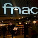 Photo taken at Fnac by Kristine on 12/23/2011