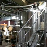 Photo taken at Upright Brewing by Blake C. on 9/1/2012