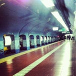 Photo taken at Estación Catedral [Línea D] by Leonel V. on 9/8/2012
