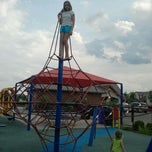 Photo taken at Zachary's Playground - Hawk Ridge Park by Rachel B. on 7/13/2012