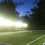 Photo taken at Powderhorn Tennis Courts by Mike G. on 5/29/2012