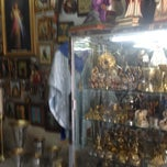 Photo taken at Tienda El Vaticano Mexico by Hector S. on 5/1/2012
