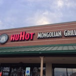 Photo taken at HuHot Mongolian Grill by Mark S. on 2/27/2013