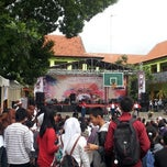 Photo taken at SMP Negeri 1 Malang by Nikolas S. on 12/21/2013