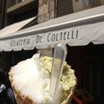 Photo taken at Gelateria De' Coltelli by Max M. on 5/21/2013