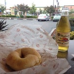 Photo taken at Big Apple Bagels by Andrew R. on 7/6/2014