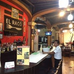 Photo taken at El Raco Restaurant Bar by Carlos R. on 6/2/2013