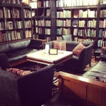 Photo taken at Battery Park Book Exchange And Champagne Bar by Alaia W. on 4/9/2013