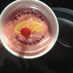 Photo taken at Tropical Smoothie Café by Amber A. on 5/23/2013