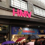 Photo taken at hmv by Takeshi I. on 11/24/2012