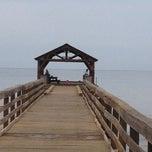 Photo taken at Waimea Recreation Pier by Don (wilytongue) S. on 12/24/2012