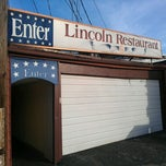 Photo taken at Lincoln Restaurant by Adrian M. on 12/22/2012