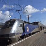 Photo taken at Eurotunnel Victor Hugo Terminal by Giancarlo on 5/15/2013