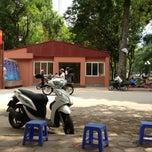 Photo taken at Đại Học Thuỷ Lợi by Mr L. on 5/6/2013