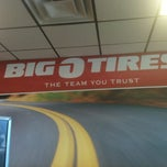 Photo taken at Big O Tires- New Albany by Alexander S. on 9/9/2013