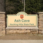 Photo taken at Ash Cave by Jeff E. on 3/9/2013