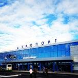 Photo taken at Международный аэропорт Омск-Центральный / Omsk Tsentralny International Airport (OMS) by Софья Т. on 5/5/2013