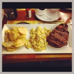 Photo taken at Gran Parrilla by Fabricio L. on 4/3/2013