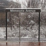 Photo taken at Minnesota Avenue Metro Station by Roy G. on 3/25/2013