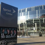Photo taken at Sprint Center by Ryan G. on 3/26/2013