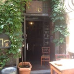 Photo taken at Osteria Del Matto by Peraux B. on 8/9/2013