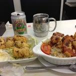 Photo taken at Aberdeen Fishball & Noodle Restaurant 香港仔魚蛋粉 by Austin N. on 1/19/2013