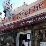 Photo taken at Manuel's Original El Tepeyac Cafe by South Park i. on 2/23/2013