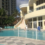 Photo taken at DoubleTree by Hilton Ocean Point Resort & Spa - North Miami Beach by Alessandra C. on 8/31/2013